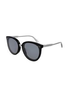 Bottega Veneta Acetate Cat-Eye Sunglasses