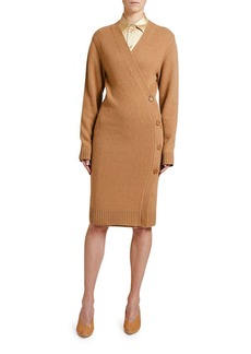 Bottega Veneta Asymmetric Sweater Dress