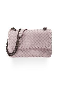 Bottega Veneta Baby Olimpia Intrecciato Shoulder Bag
