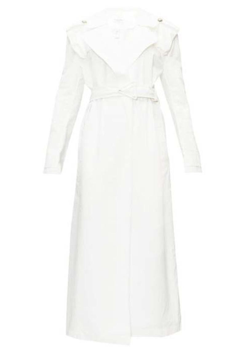 Bottega Veneta Belted cotton trench coat