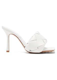 Bottega Veneta BV Lido Intrecciato-woven leather sandals