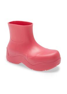 Bottega Veneta BV Puddle Waterproof Chelsea Rain Boot (Women)