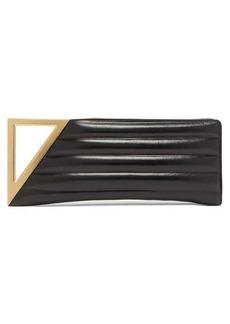 Bottega Veneta BV Rim small matelassé leather clutch