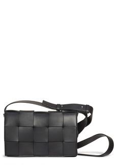 Bottega Veneta Cassette Intrecciato Leather Crossbody Bag