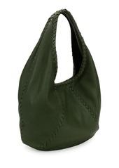 39d1e0509b Bottega Veneta Cervo Large Leather Hobo Bag dine-out.co.uk