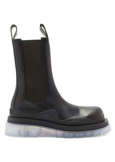 Bottega Veneta BV Tire chunky-sole leather Chelsea boots