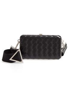 Bottega Veneta Cocco Crosshatch Leather Carrying Case