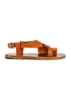 Bottega Veneta Cross Strap Sandals