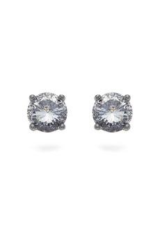 Bottega Veneta Cubic Zirconia silver earrings