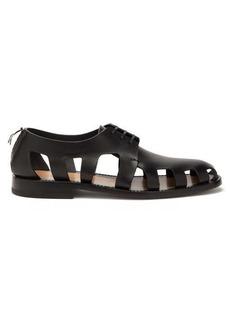 Bottega Veneta Cut-out leather sandals