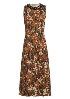 Bottega Veneta Embellished scuba-jersey dress