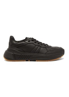 Bottega Veneta Speedster exaggerated-sole leather trainers