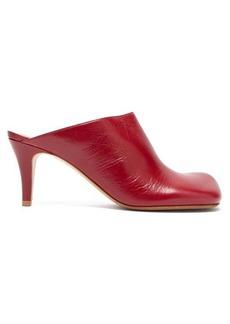 Bottega Veneta Exaggerated-toe leather mules