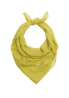 Bottega Veneta Eyelet-embellished silk scarf