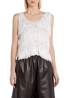 Bottega Veneta Fringe Sweater Tank