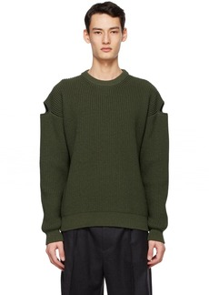Bottega Veneta Green Chunky Sweater