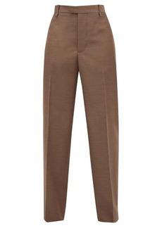 Bottega Veneta High-rise wool wide-leg trousers