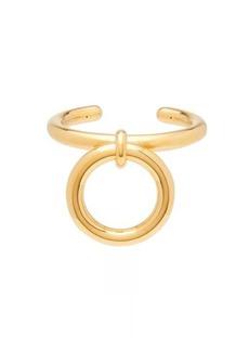 Bottega Veneta Hoop-charm gold-plated sterling silver cuff