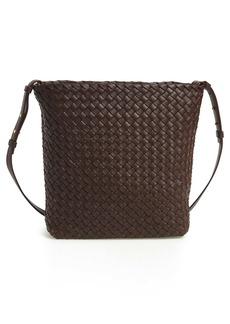 Bottega Veneta Intrecciato Cabata Leather Crossbody Bag