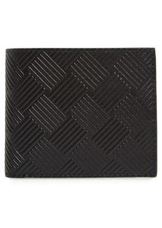 Bottega Veneta Intrecciato Embossed Leather Bifold Wallet