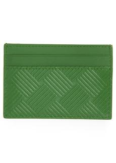 Bottega Veneta Intrecciato Embossed Leather Card Case