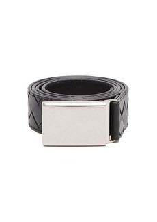 Bottega Veneta Intrecciato-leather belt