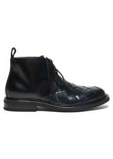Bottega Veneta Intrecciato leather desert boots