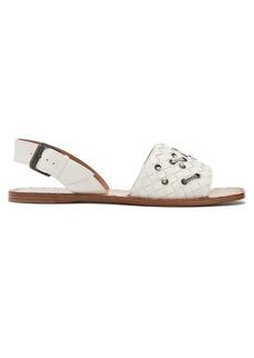 Bottega Veneta Intrecciato leather flat sandals