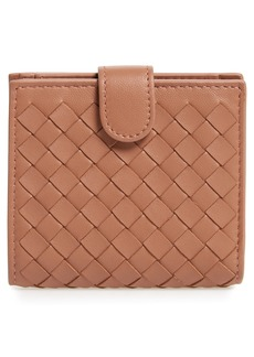 Bottega Veneta Intrecciato Leather French Wallet