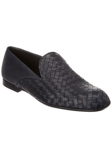 Bottega Veneta Intrecciato Leather Loafer