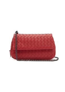 Bottega Veneta Intrecciato leather mini cross-body bag
