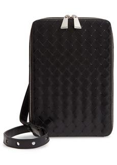 Bottega Veneta Intrecciato Maxi Woven Leather Belt Bag
