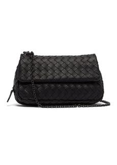 Bottega Veneta Intrecciato mini leather cross-body bag
