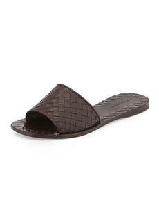 Bottega Veneta Intrecciato Napa Slide Sandal