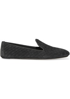 Bottega Veneta Intrecciato nubuck slippers