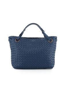 Bottega Veneta Intrecciato Small Square Bucket Bag