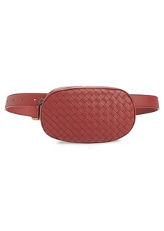 Bottega Veneta Intrecciato Woven Leather Belt Bag