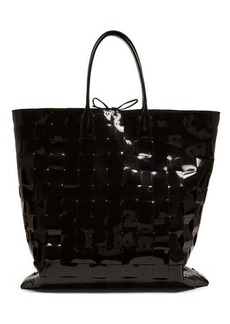 Bottega Veneta Extra-large Intrecciato-woven PVC tote bag