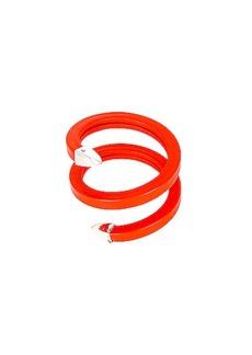 Bottega Veneta Leather Snake Bracelet