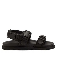 Bottega Veneta Logo-jacquard leather sandals