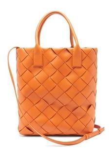 Bottega Veneta Maxi Cabat Intrecciato-woven leather tote bag