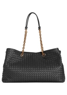 Bottega Veneta Medium Intrecciato Leather Tote Bag