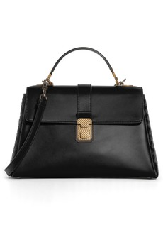 Bottega Veneta Medium Piazza Top Handle Bag