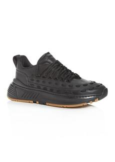 Bottega Veneta Men's Lace Speedster Leather Low-Top Sneakers