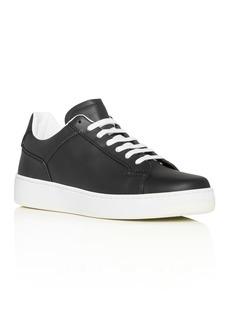 Bottega Veneta Men's Leather Low-Top Sneakers