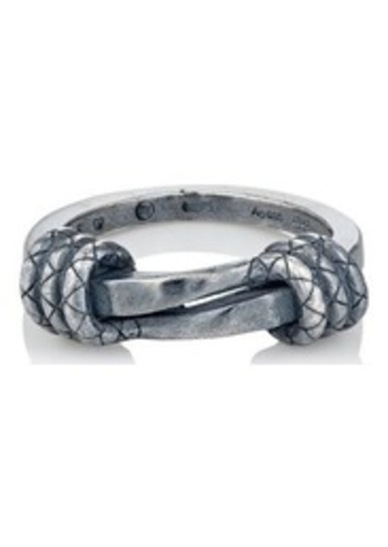 f41eadc200c27 Men's Sterling Silver Twisted Ring