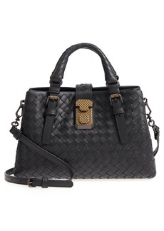Bottega Veneta Mini Roma Leather Satchel
