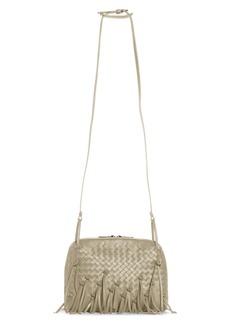Bottega Veneta Nodini Fringe Leather Crossbody Bag