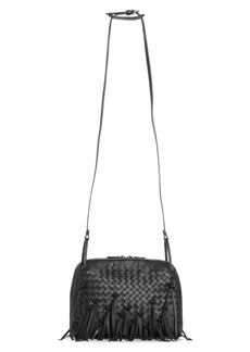 Bottega Veneta Nodini Fringe Leather Crossbody Bag
