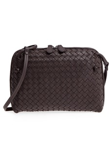 Bottega Veneta Nodini Woven Leather Crossbody Bag